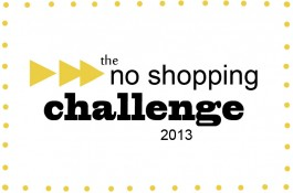 No Shopping Challenge Week 1