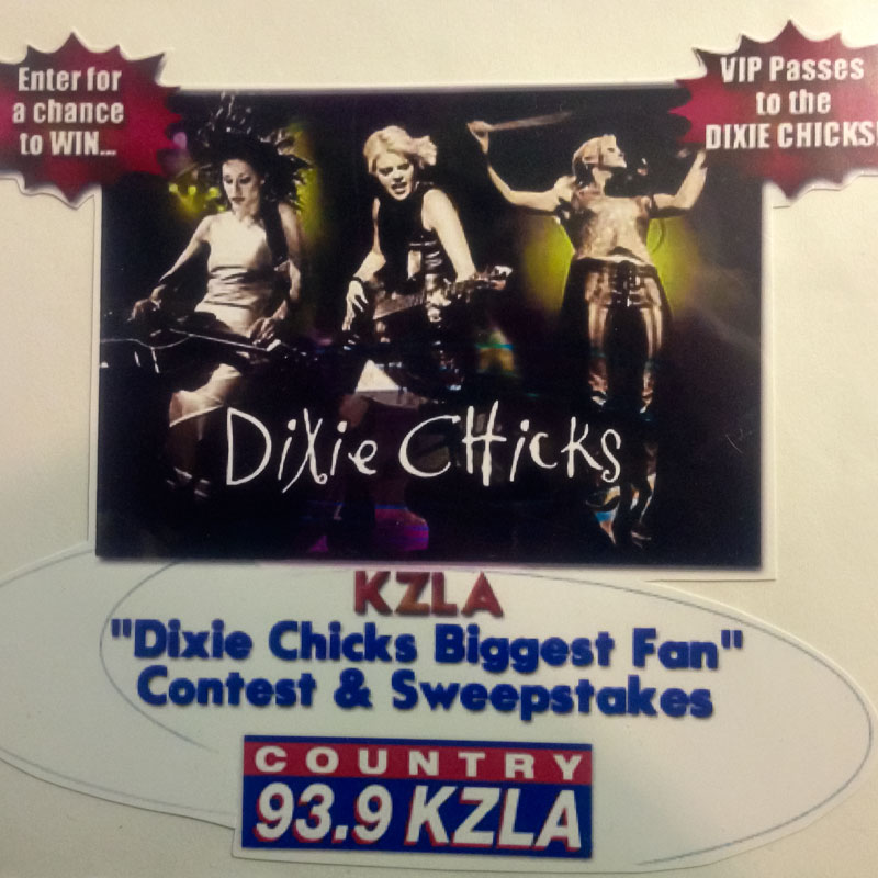 dixie chicks, biggest fan, before i was a mom, concert