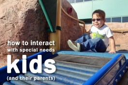 How to Interact With Special Needs Children