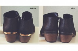 Easy DIY Updated Ankle Boots