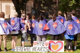 Stevie Fan Club {Congenital Heart Walk of Greater Los Angeles}