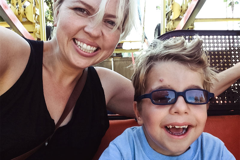 First Time at Knott's Berry Farm