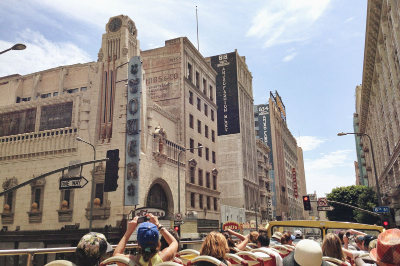 Starline Tours Downtown Los Angeles