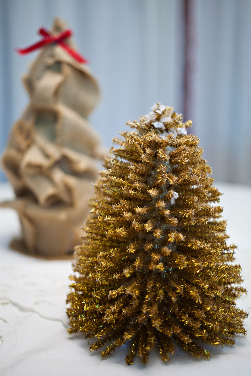 for the home, diy, tinsel tree