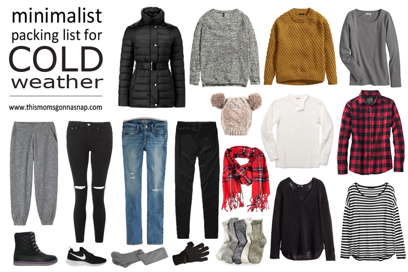 Minimalist Packing List for Cold Weather
