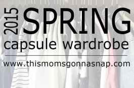 Spring Capsule Wardrobe Wrap-up
