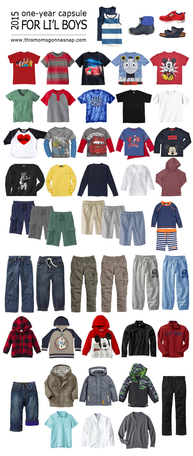Creating A Capsule Wardrobe For Kids This Mom S Gonna Snap