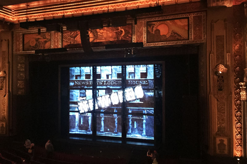 Newsies at the Hollywood Pantages