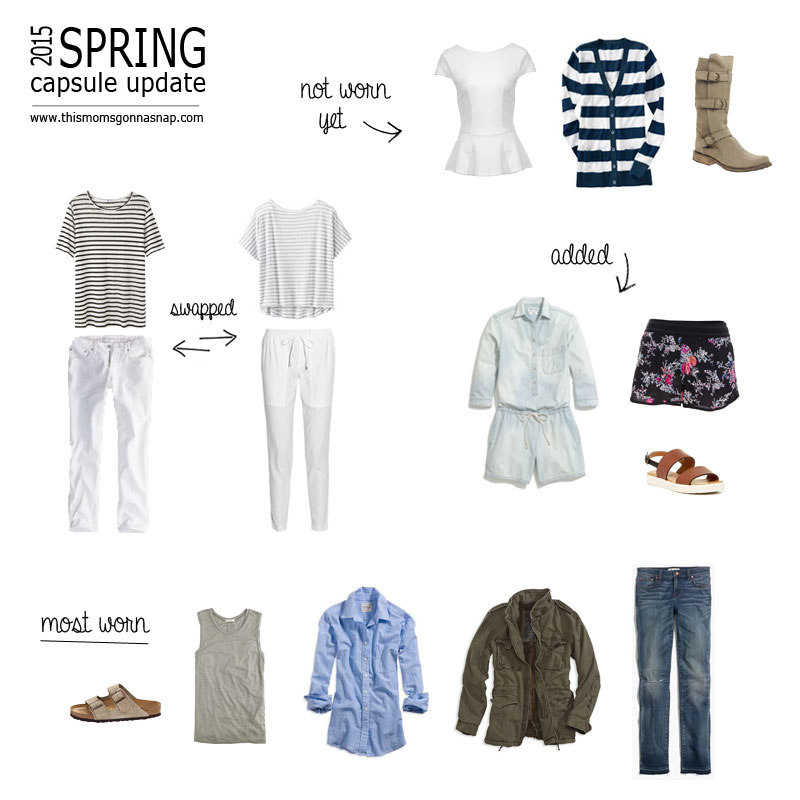 spring capsule wardrobe update – this mom's gonna snap!