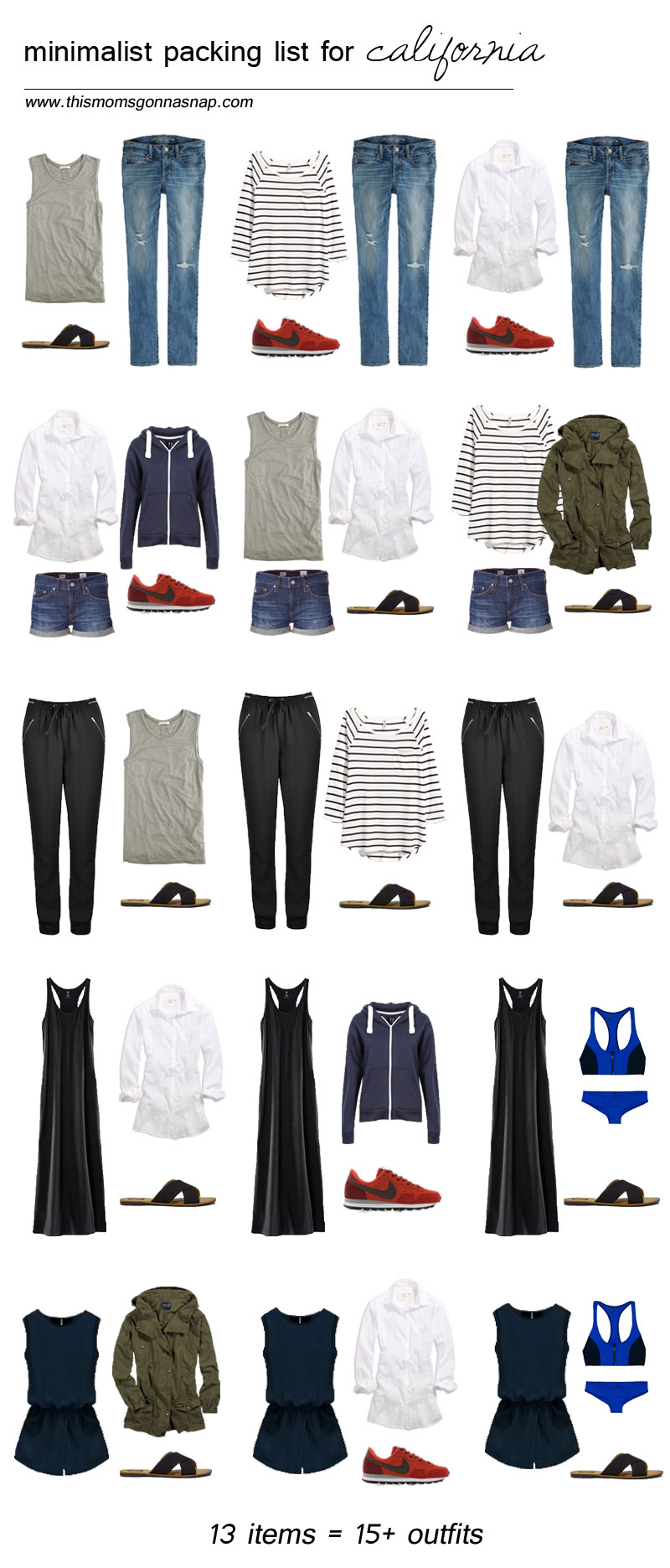 mom style, packing list, minimalist wardrobe, packing light, california trip, california vacation, packing list for californiamom style, packing list, minimalist wardrobe, packing light, california trip, california vacation, packing list for california