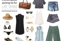 Minimalist Packing List for a Las Vegas Weekend