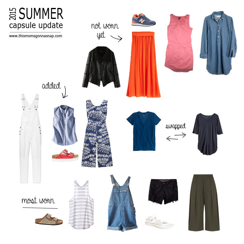 summer capsule wardrobe update – this mom's gonna snap!