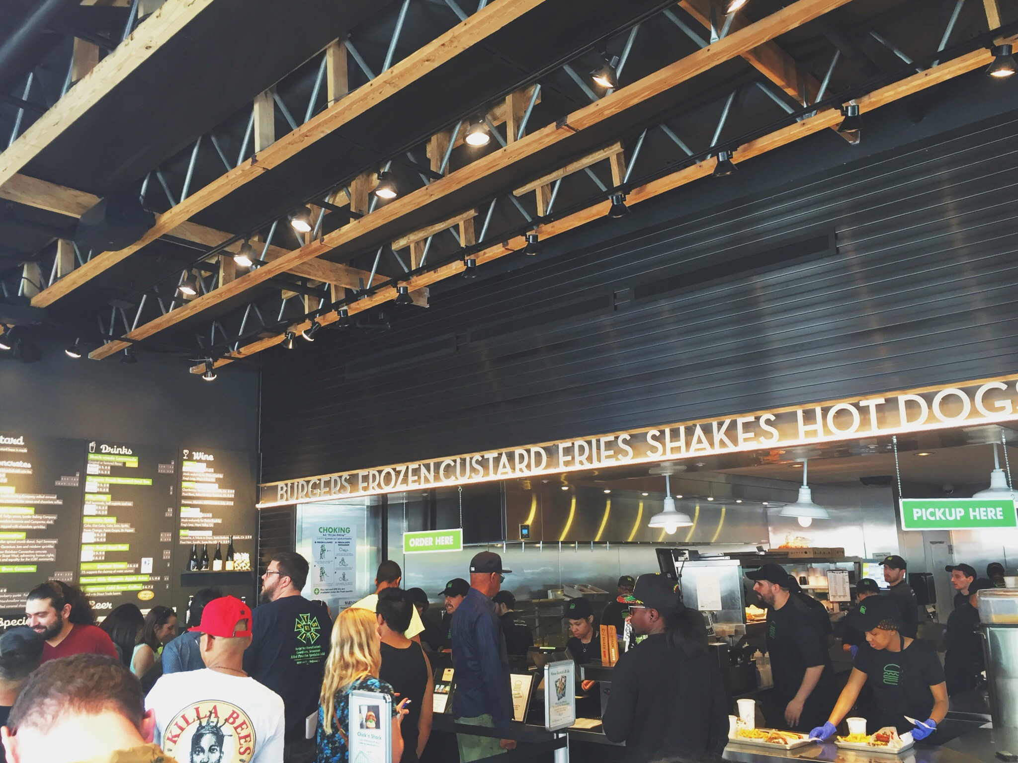 best burgers-first time at shake shake-going places-los angeles-shake shack-west hollywood