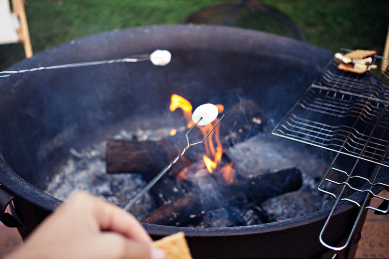 going places, summer fun, cousins, the cove riverside, bonfire, roasting marshmallows, smores