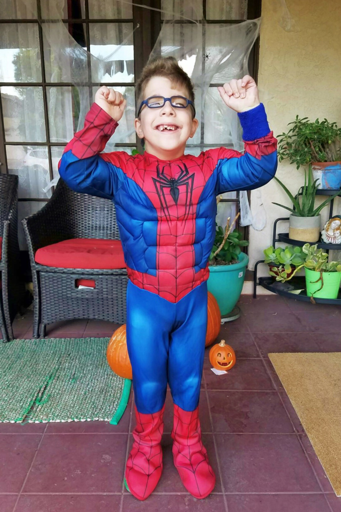 stevie fan club, halloween 2016, spiderman costume, parenthood, expectations, holidays, special needs parenting