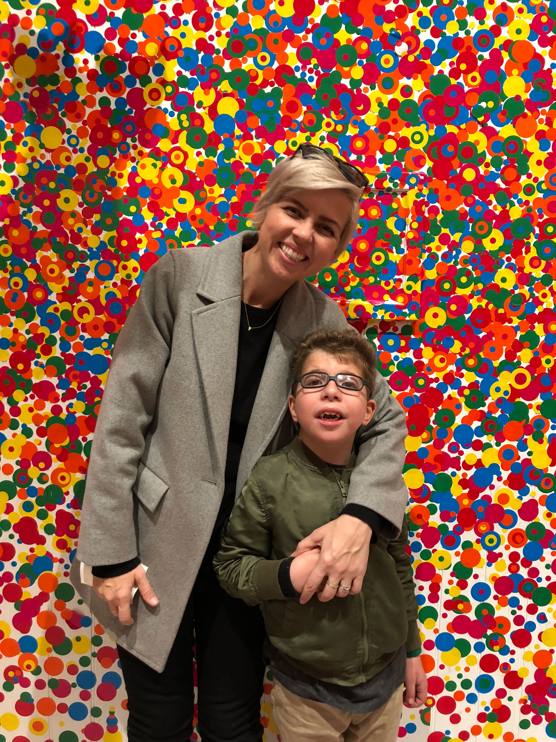 holiday wrap up, infinity lights, broad museum