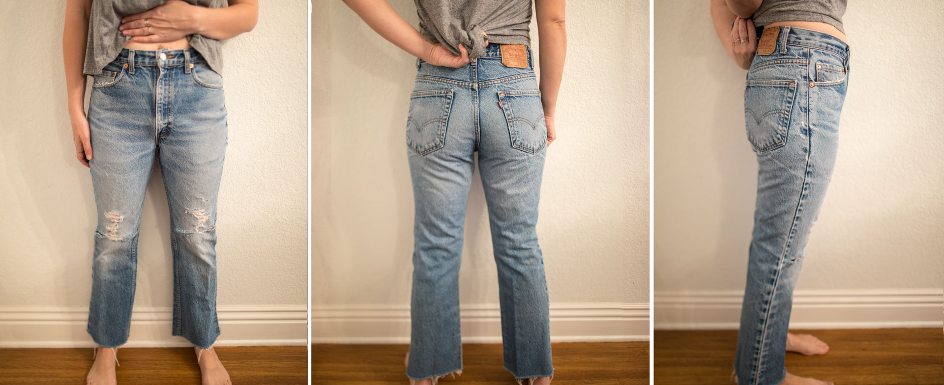 332e8b7e39 Finding the Right Jeans | Vintage Levi's Fit Guide - This Mom's ...